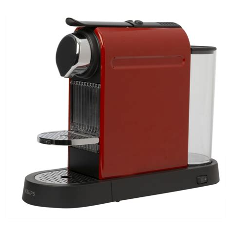 Krups Red Nespresso Citiz Coffee Maker   review, compare prices, buy online