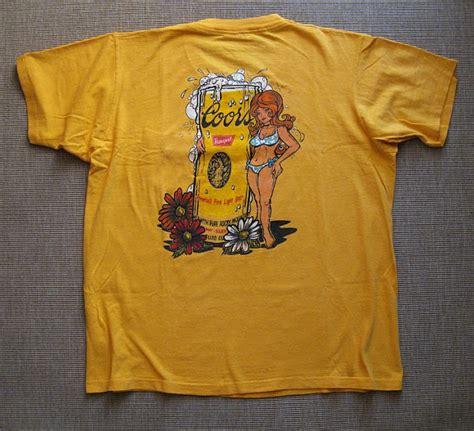 coors light t shirt w 246 rn75 70 s coors