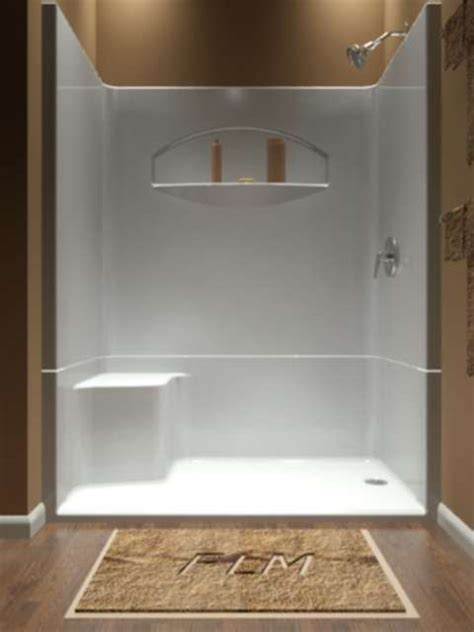 60 X 28 Bathtub Sectional Piece Remodeler Shower