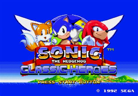 sonic heroes sega genesis you can play on your vita sonic classic heroes