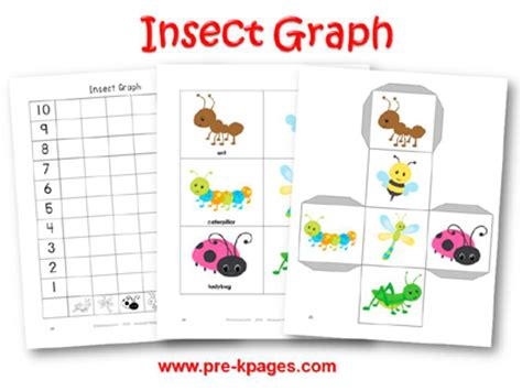 printable graphs for pre k number names worksheets 187 picture graphs for kindergarten