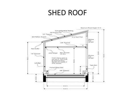Gable Barn Plans by Roofs And Truss