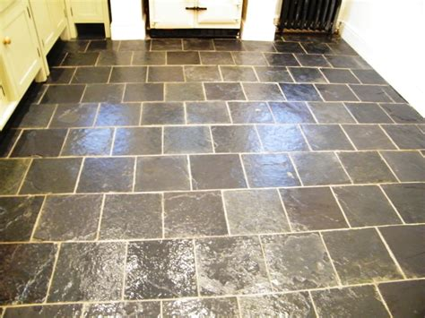 slate floor kitchen slate kitchen floor knypersley staffordshire tile