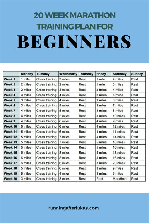 running your marathon the complete 20 week marathon plan books 20 week marathon plan for beginners running