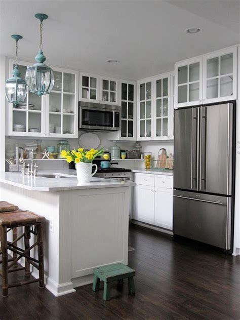 15 creative small kitchen design tips