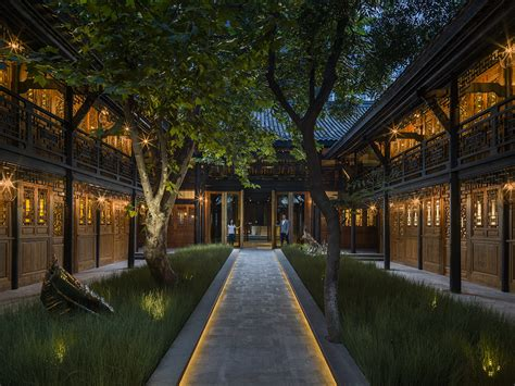 U Shaped House With Courtyard by The Temple House Hotel In Chengdu Is Fit For A Qing