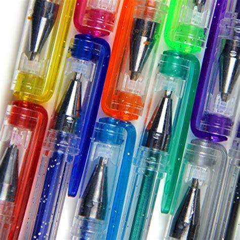 best colored gel pens 12 glitter gel pens best colored gel pens set gelpen