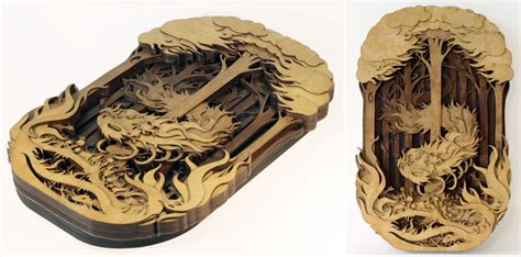woodworking laser ornate laser cut wood with depth