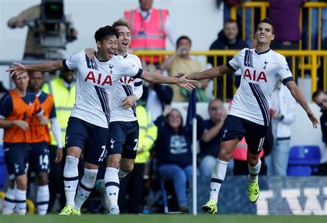 At Sons League by S 1st League Goal Seals Spurs Win The Korea Times