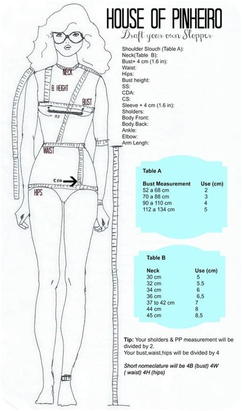 pattern drafting measurement chart 17 best images about medidas on pinterest charts curves