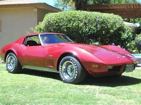 sell used 1975 chevy corvette stingray coupe l82 4 spd t tops 83k direct auto in stafford sell used 1975 corvette stingray l82 4speed loaded and one california owner for 36 years in