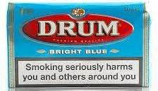 Tembakau Import Drum Bright Blue 50 Gram drum bright blue rolling tobacco made in netherlands 20 x 50 g 1 kilo total free shipping