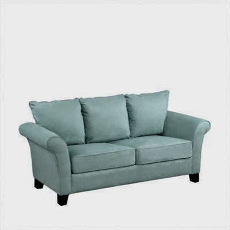 blue microfiber sofa blue