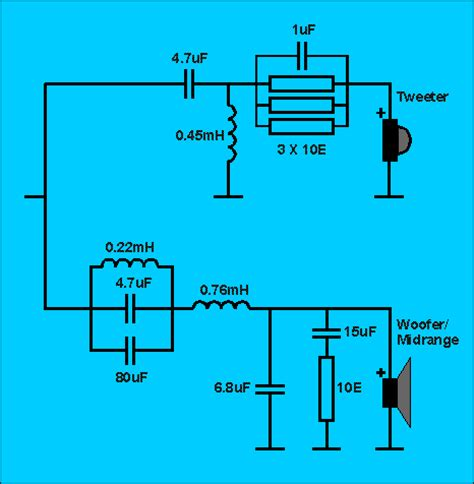 capacitor crossover network capacitor crossover network 28 images 3107 crossover capacitors what are three way speaker