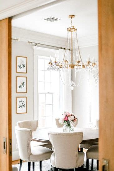 transitional french glam dining room antique gold