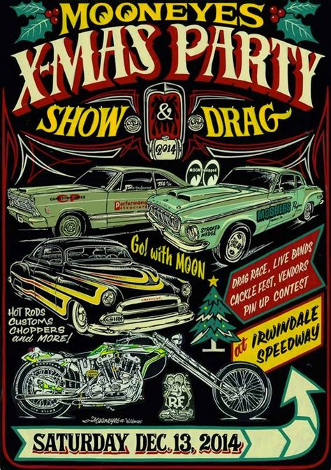 event alert the annual mooneyes x mas party show and