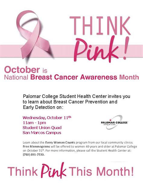 October Is Breast Cancer Awareness Month 2 by Breast Cancer Awareness Event Events Calendar