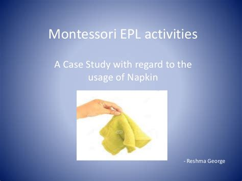 Epl Activities | montessori epl activities