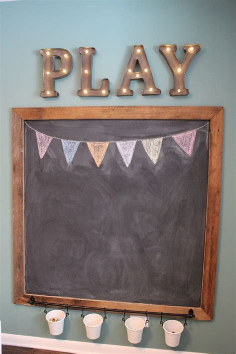 diy chalkboard for playroom best 25 living room playroom ideas on