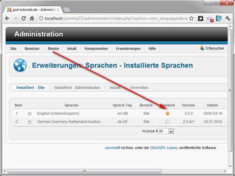 joomla template zugewiesen joomla 2 5 teil 31 eigene templates entwickeln 2