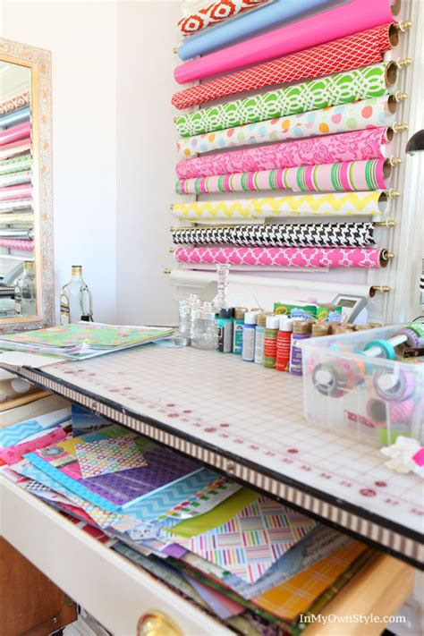 How To Make Paper Organizer - diy scrapbook paper organizer in my own style