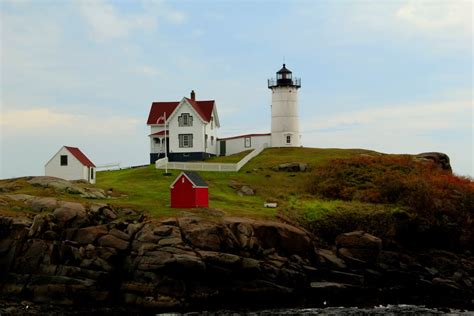 Nubble Light by Panoramio Photo Of Nubble Lighthouse