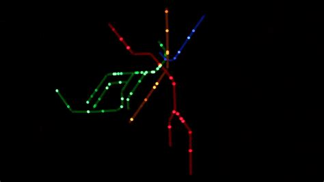 how have we lived without it led animation kitchen light rail a real time boston t led map by