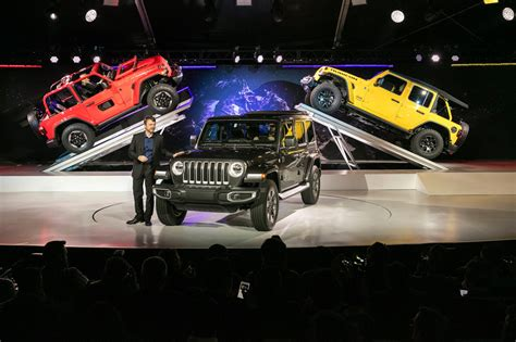 Superior Home Design Los Angeles by All New 2018 Jeep Wrangler Revealed At L A Auto Show