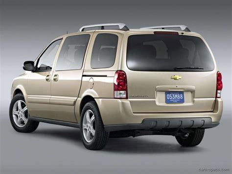 chevrolet uplander minivan specifications pictures