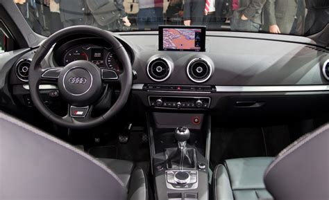Audi A3 Interior 2014 by Car And Driver