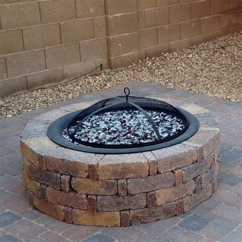 how to build a glass pit the brilliant diy propane pit decoration pit