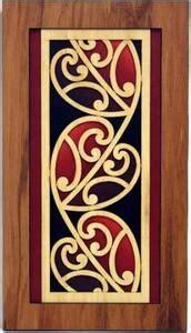 kowhaiwhai design meaning rimu wall art with coloured kowhaiwhai scroll design art