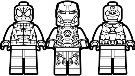 iron man minion coloring page lego spiderman and lego iron man lego captain america