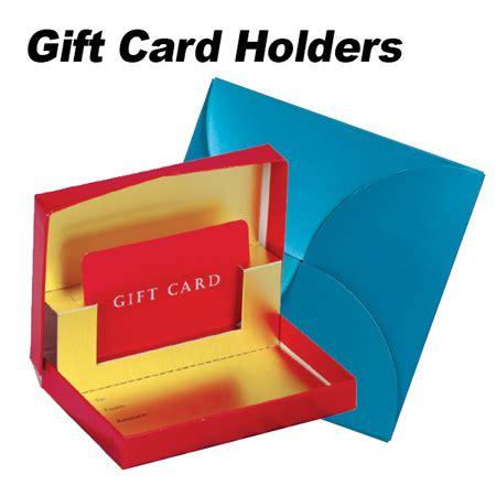 Personalized Gift Card Holders - logo gift cards and wrap bnoticed put a logo on it the promotional products