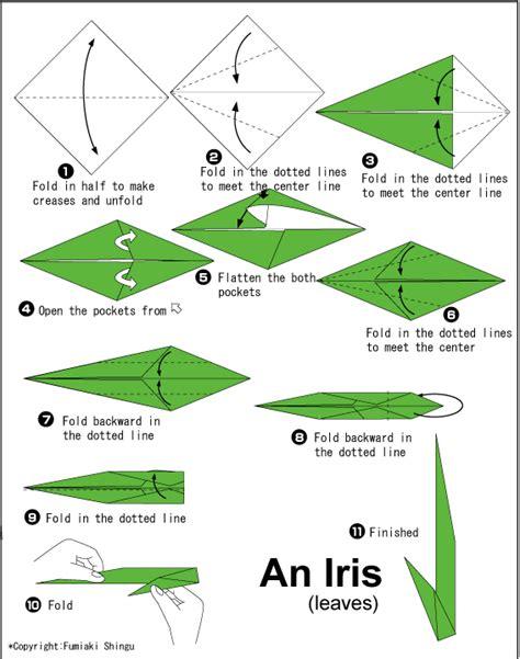 Origami Iris - origami iris do origami