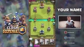 How to create overlays clash royale tutorial guide videock