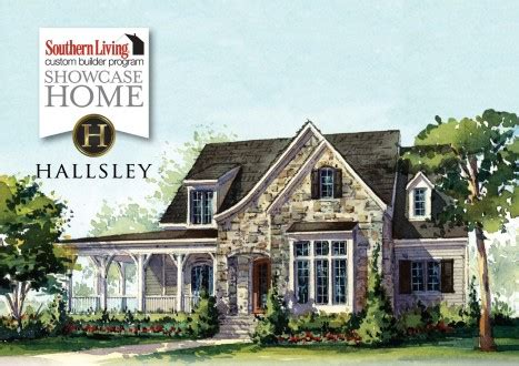 Southern Living Custom Builder Home Hallsley Richmond Southern Living House Plans January 2014