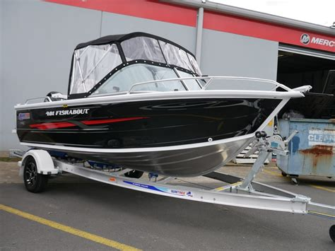 runabout boat packages quintrex 481 fishabout runabout package jv marine
