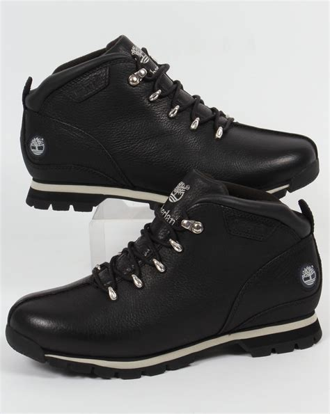 black timberland boots for timberland splitrock hiker boots black pro shoes