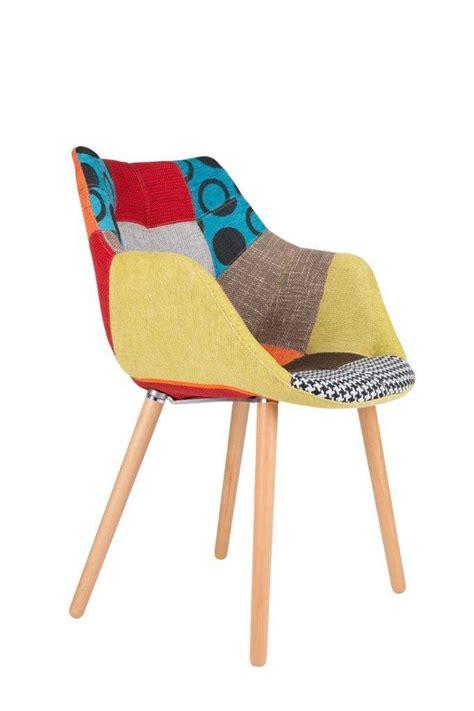 patchwork stuhl stuhl polsterstuhl twelve patchwork zuiver im retro look