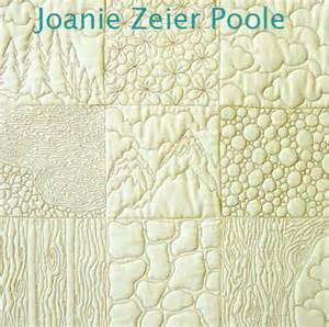 joanie zeier poole upcoming machine quilting classes
