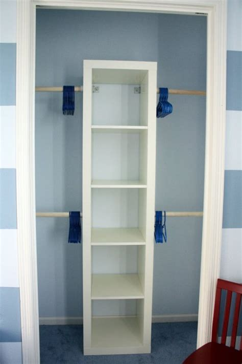 small closet 10 ways to get more storage out of a small closet