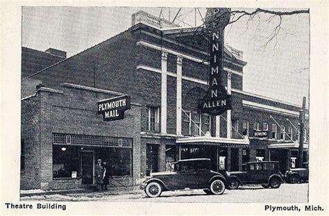 plymouth theater mi penniman allen theatre in plymouth mi cinema treasures