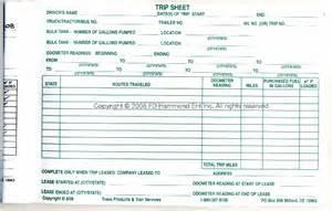 daily trip sheet book no 1328