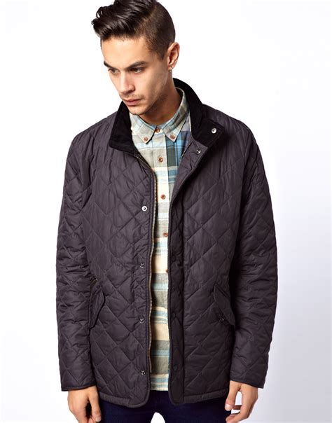 Quilted Jacket Barbour by Barbour Barbour Chelsea Sports Quilt Jacket In Gray For