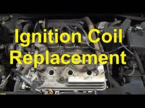 how to replace an ignition coil on a toyota camry v6 youtube