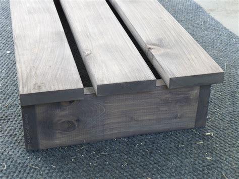 diy outdoor bench seat easy diy outdoor bench love grows wild