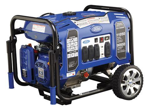 ford fg11050pe 11050w portable generator
