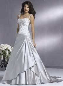 Wedding addict silver wedding dress with soft sweetheart