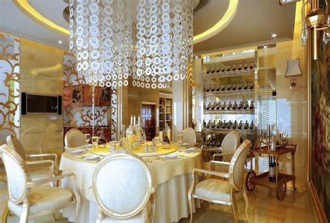 restaurant room luxury dining room of restaurant 3d house